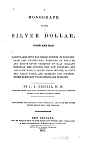 Monograph of the Silver Dollar