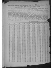 Auktions-Katalog XX