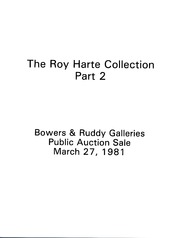Roy Harte Collection, Part 2
