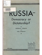 short essay on democracy vs dictatorship