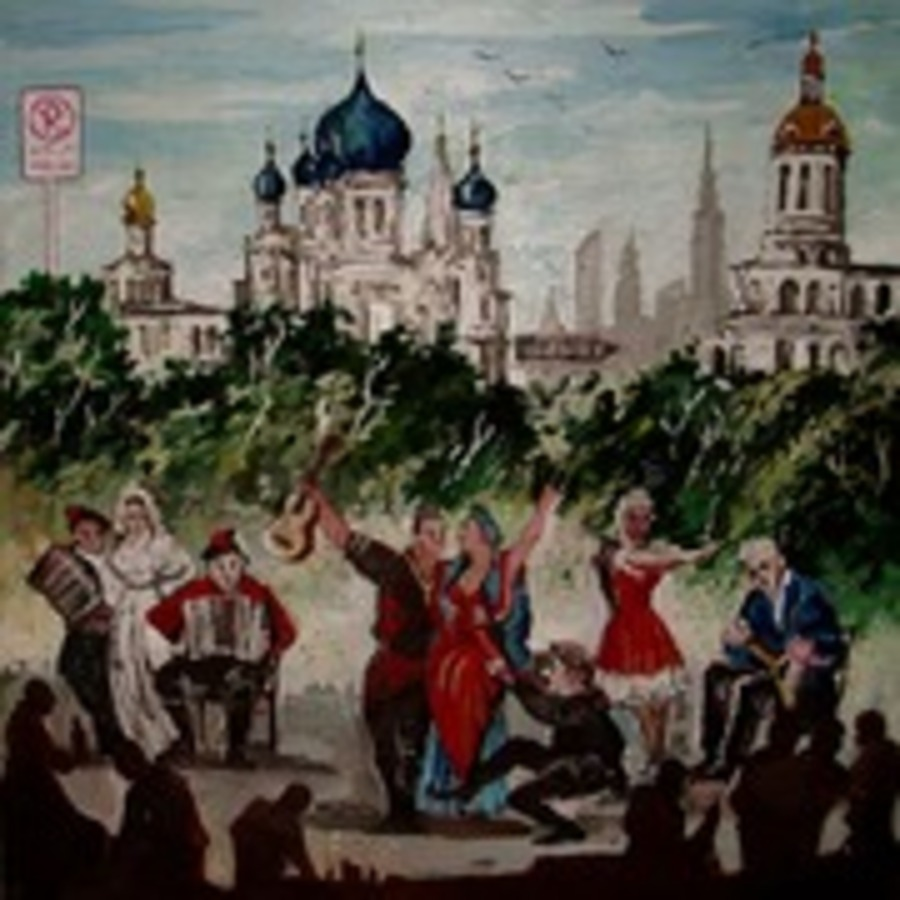 Russian_Folk_Song_Selections_A_Compilation_ : Many artists