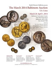 The March 2014 Baltimore Auction, U.S. Coins
