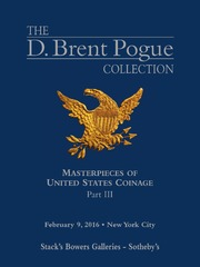 The D. Brent Pogue Collection, Part III