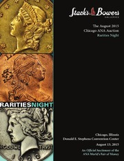 The August 2015 Chicago ANA Auction Rarities Night (pg. 55)