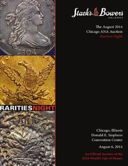 The August 2014 Chicago ANA Auction Rarities Night