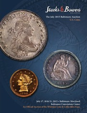 The July 2015 Baltimore Auction, U.S. Coins