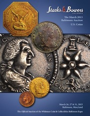The March 2015 Baltimore Auction, U.S. Coins