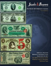 The March 2015 Baltimore Auction, U.S. Currency