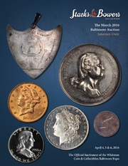 The March 2016 Baltimore Auction, Internet-Only