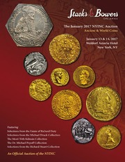 The January 2017 NYINC Auction, Ancient & World Coins