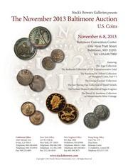 The November 2013 Baltimore Auction, U.S. Coins