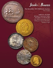 The November 2015 Baltimore Auction, U.S. Coins