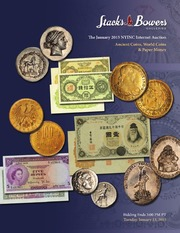 The January 2015 NYINC Internet Auction, Ancient Coins, World Coins & Paper Money
