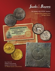 The January 2015 NYINC Auction, Ancient Coins, World Coins & Paper Money