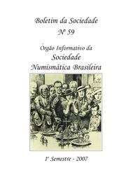 Brazilian Numismatic Society Bulletin (no. 59)