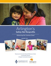 Arlington-s safety-net nonprofits : advancing the common good
