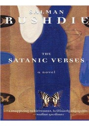 THE SATANIC VERSES by Salman Rushdie 1989 HC/DJ ~ 1st Edition 9th Printing