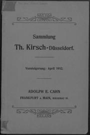 Sammlung Th. Kirsch - Duesseldorf