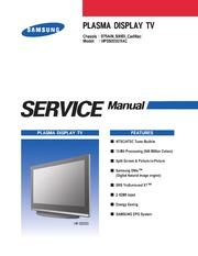 Service Manual: Samsung PS42C91HX : Free Download, Borrow, and ...