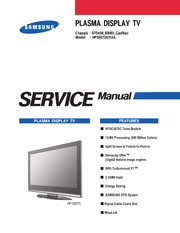 service manual samsung ps42c430 precaution free