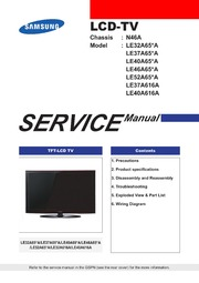 samsung ln46d630 manual