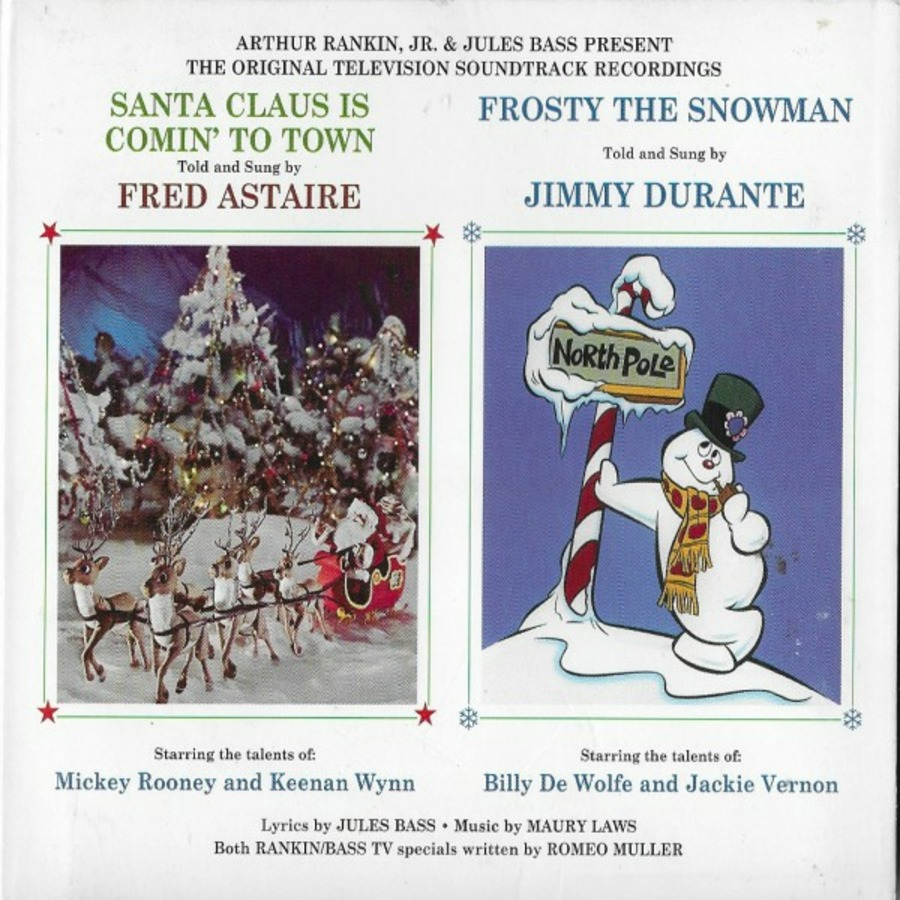 Santa Claus Is Comin' To Town And Frosty The Snowman The Original ...