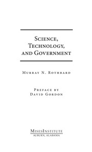 Science Technology And Government 0