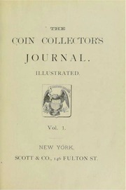 Scott's Coin Collector's Journal