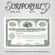Scripophily (pg. 28)