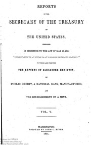 Report of the Secretary of the Treasury on the State of the Finances (1845)