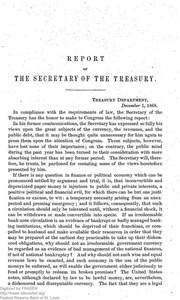 Report of the Secretary of the Treasury on the State of the Finances (1868)