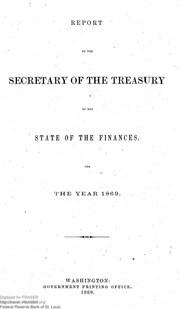 Report of the Secretary of the Treasury on the State of the Finances (1869)
