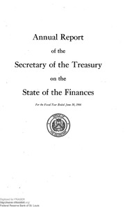 Report of the Secretary of the Treasury on the State of the Finances (1966)