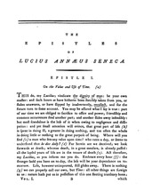 epistles of seneca