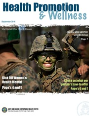 Health Promotion and Wellness September 2016