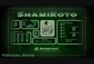 ShamiKoto Virtual Japanese Koto and Shamisen VST Windows, Audio Unit macOS  - Megamix (Medley remix)