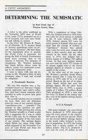 The Shekel, vol. 7, no. 1 (Spring 1974)