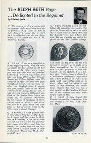 The Shekel, vol. 7, no. 3 (Fall 1974)