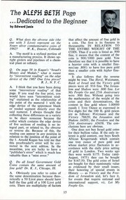 The Shekel, vol. 8, no. 3 (Fall 1975)