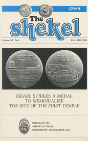 The Shekel, vol. 15, no. 1 (January-February 1982)