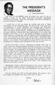 The Shekel, vol. 24, no. 5 (September-October 1991)