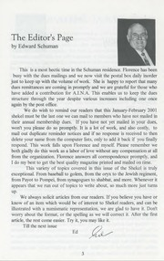 The Shekel, vol. 34, no. 1 (January-February 2001)