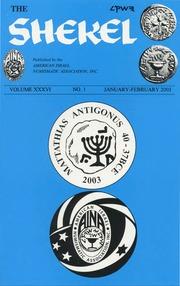 The Shekel, vol. 36, no. 1 (January-February 2003)