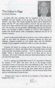 The Shekel, vol. 36, no. 6 (November-December 2003)