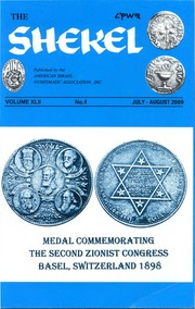 The Shekel, vol. 42, no. 4 (July-August 2009)