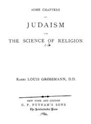 an analysis of the religion of judaism Define judaism: a religion developed among the ancient hebrews and characterized by belief in one transcendent god who has revealed himself to.