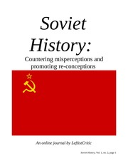The Great October Socialist Revolution and early history of the USSR