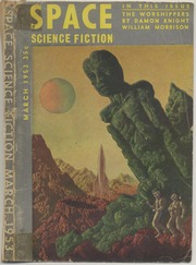 SPACE SCIENCE FICTION #5 FINE CONDITION 1953