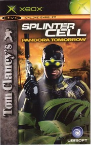 XBOX Manual: Splinter Cell Pandora Tomorrow 2004UbisoftUSa