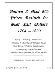 Auction & Mail Bid Prices Realized for Bust Half Dollars